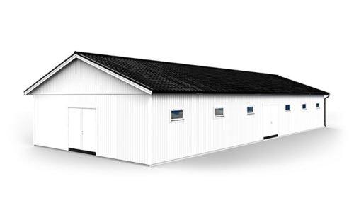Stall 9,6 x 24,0 m