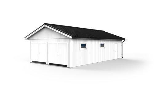 Bygga garage byggsats
